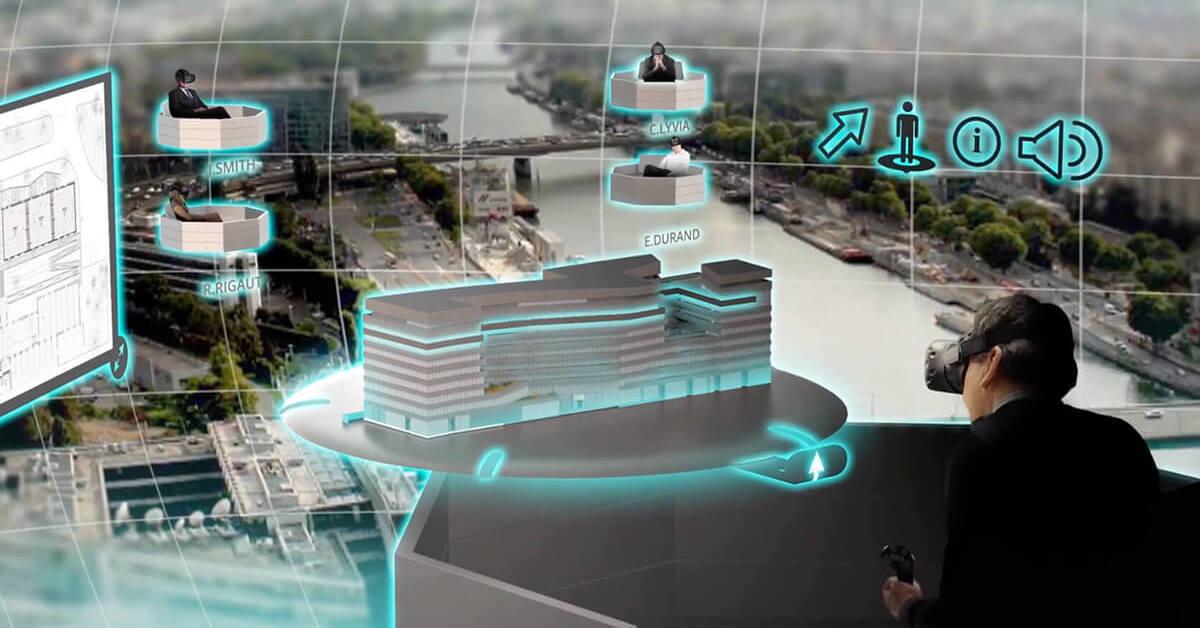 Aplicación de la realidad virtual en la industria de la construcción