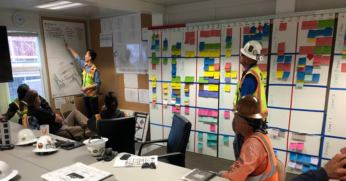 """Lean Construction: Last Planner System """"LPS"""" o Sistema del último Planificador"""